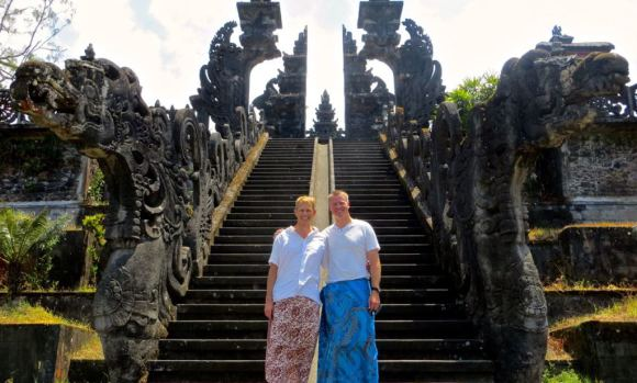 The Mother Temple of Besakih in Bali
